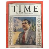 Time magazine August 29, 1938